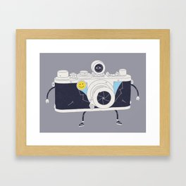 Old Skool Cam Framed Art Print