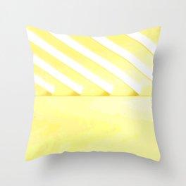 Desert Rays Throw Pillow