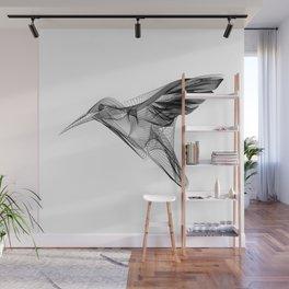 """Abstract Collection"" - Humming bird Wall Mural"