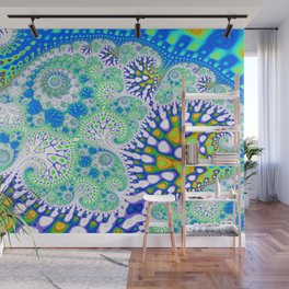 Central Park Fractal by Amanda Martinson Wall Mural