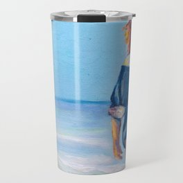 Up from the Sea Travel Mug