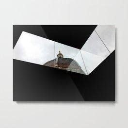 Duomo in Modernity Metal Print