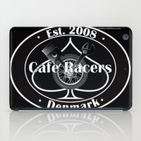 cafe racer iPad Cases featuring Cafe Racer  by Peter G. Brandt