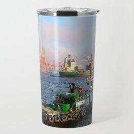 Busan port Travel Mug