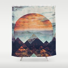 Fractions B02 Shower Curtain