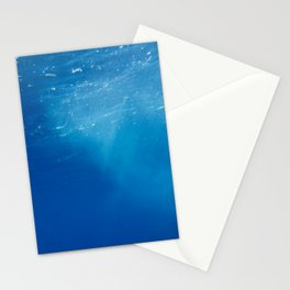 Looking Up at the Ocean Stationery Cards
