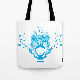 The Silent Monkey Tote Bag