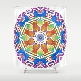 Magic Kaleidoscope Shower Curtain