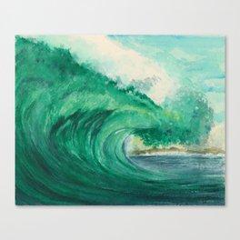 Majestic Wave Canvas Print