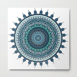 Mandala Armonia Metal Print