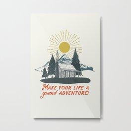 A Grand Adventure Metal Print
