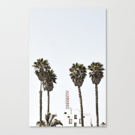 Pismo Beach Hotel Canvas Print