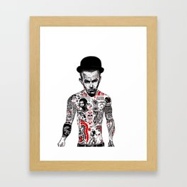 Mr Waits Framed Art Print