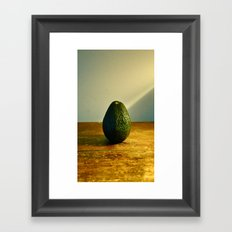 Still Life-Avocado Framed Art Print
