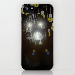 Glowing Eyes iPhone Case