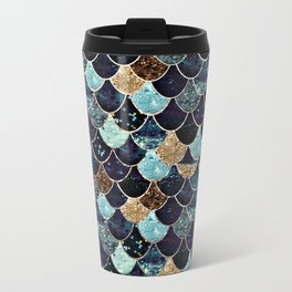 REALLY MERMAID - MYSTIC BLUE Metal Travel Mug