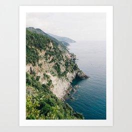 Cinqueterre - Italian Coast Art Print