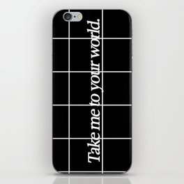 Grid #1 iPhone Skin