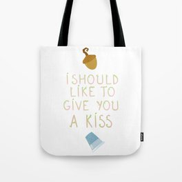"Kisses - Quote from ""Peter Pan"" Tote Bag"