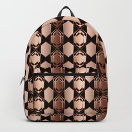 Geometric abstraction. Backpack