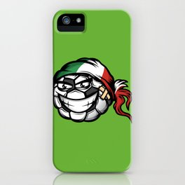 Football - Italy iPhone Case