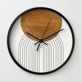 Arch III Wall Clock