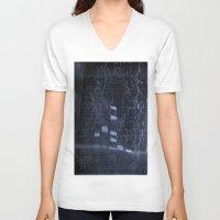 study V-neck T-shirts featuring Bio Study by stefani187