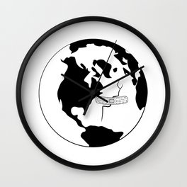 Help the planet Wall Clock