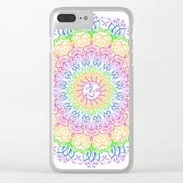 Chakra Om Clear iPhone Case