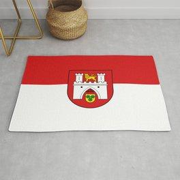 flag of Hanover or Hannover Rug