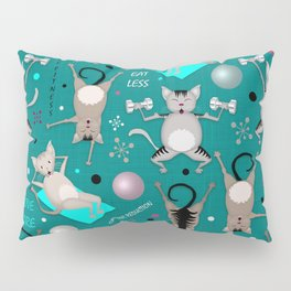 Fitness for cats Pillow Sham
