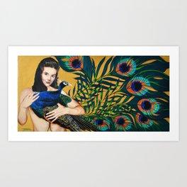 Ten Eyes On You Art Print