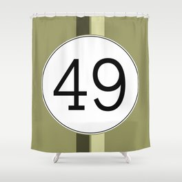 Rally 49 Shower Curtain