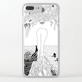 Rebirth Nature Clear iPhone Case