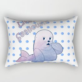 Like, Sealiously! Rectangular Pillow