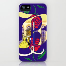 B is for Beauty and the Beast iPhone Case
