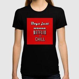 Netflix Chill  T-shirt