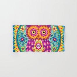 Owl Mandala Hand & Bath Towel