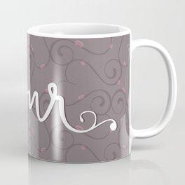 Amour Pattern Coffee Mug