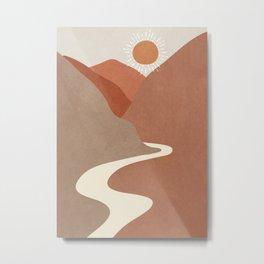 Minimalistic Landscape I Metal Print