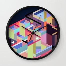 Maskine 14 Wall Clock