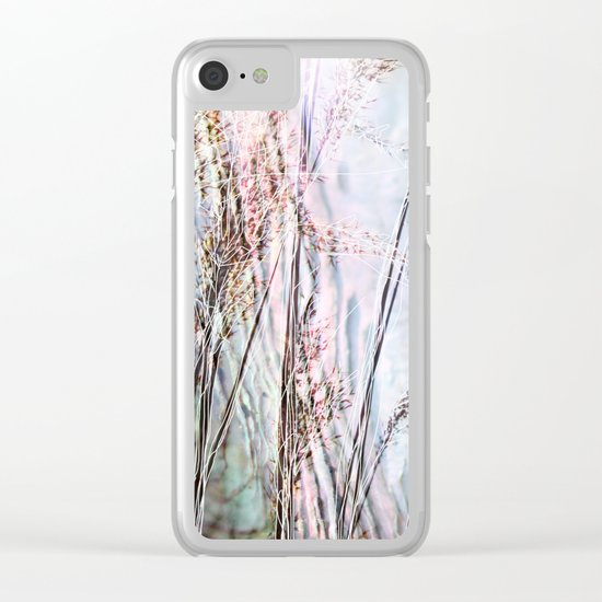 Magical Reeds - JUSTART (c) Clear iPhone Case