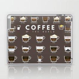 Coffee Chart Laptop & iPad Skin