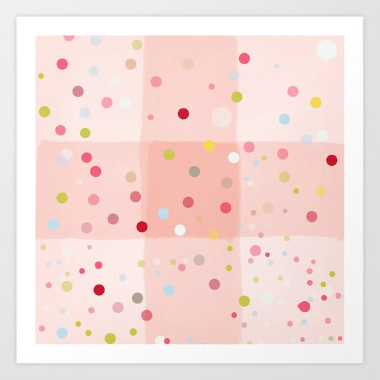 Candy Dreams Art Print