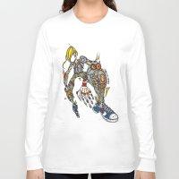 sam smith Long Sleeve T-shirts featuring Sam by Maccu Maccu