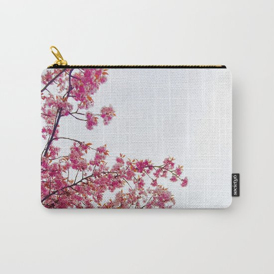 watercolor bloom Carry-All Pouch