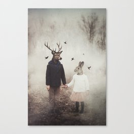 Creatures of Commonplace Canvas Print
