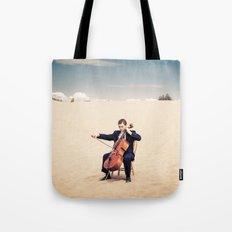 Desert Cello Tote Bag