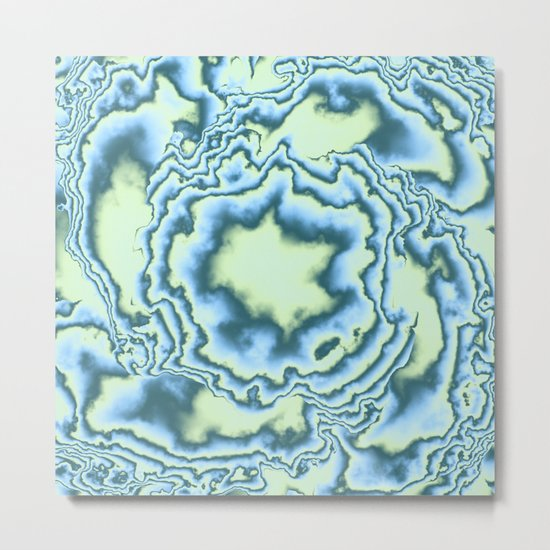 Turbulence in MWY 03 Metal Print
