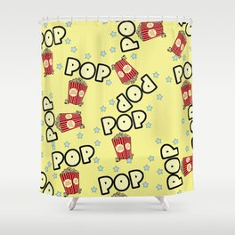 Pop corn Shower Curtain
